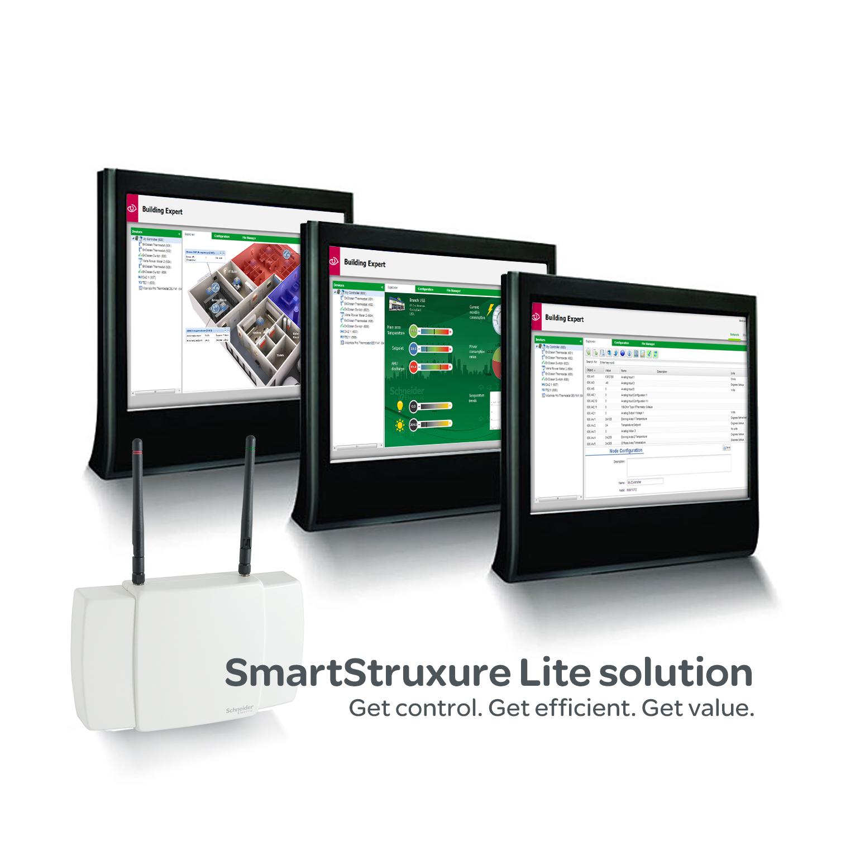 Consolle Ingombro Ridotto Solution : Smartstruxure lite di schneider electric la nuova