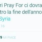 #PrayForSyria