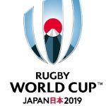 Il logo della Rugby World Cup 2019 in Giappone