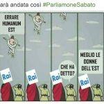 #parliamonesabato