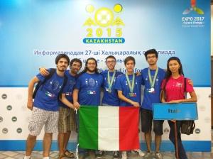 Foto Team Olimpici con medaglie