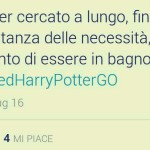 We need Harry Potter Go
