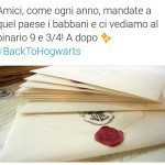#BackToHogwarts