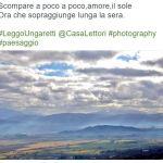#LeggoUngaretti