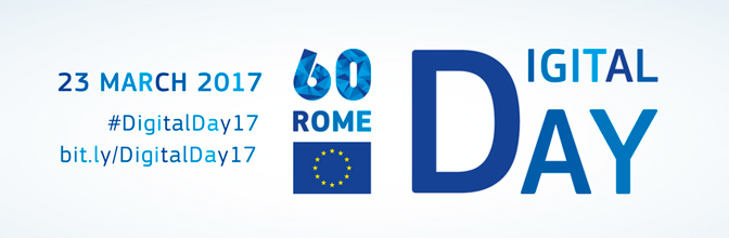 #DigitalDay17: un futuro digitale per l'Europa