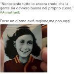 #AnnaFrank