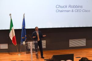 ChuckRobbins CEO Cisco NAPOLI