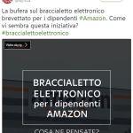 #braccialettoelettronico
